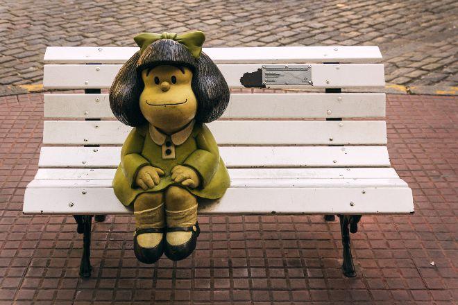 Mafalda Statue, Buenos Aires, Argentina