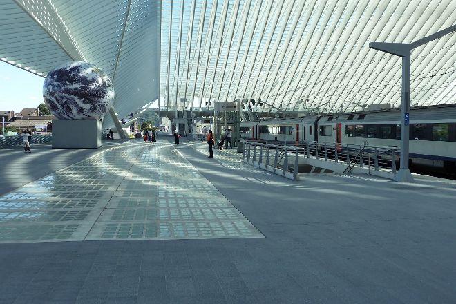 Europcar Liège - Gare des Guillemins, Liege, Belgium