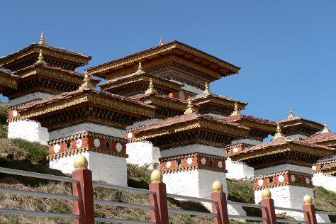 Dochula Pass, Thimphu, Bhutan