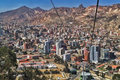 Mi Teleferico, La Paz, Bolivia