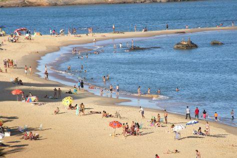 Costa Beach, Vila Velha, Brazil