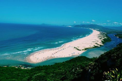 Guarda do Embau Beach, Palhoca, Brazil