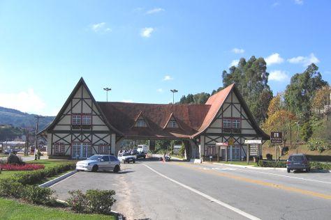 Portico da cidade, Campos Do Jordao, Brazil