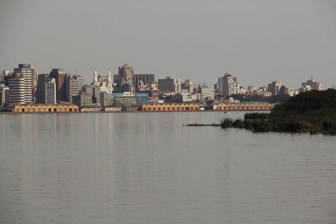 Guaiba Lake (River), Porto Alegre, Brazil