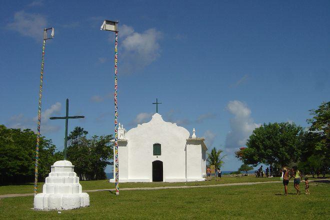 Igreja de Sao Joao Batista, Trancoso, Brazil