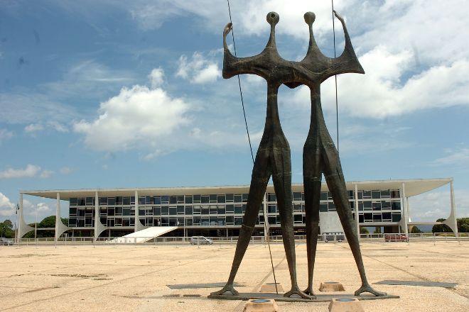 Praca dos Tres Poderes, Brasilia, Brazil