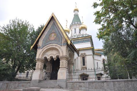 Temple Sveti Nikolay, Sofia, Bulgaria