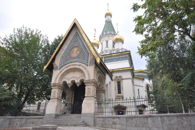 Temple Sveti Nikolay, Sofia, Bulgaria