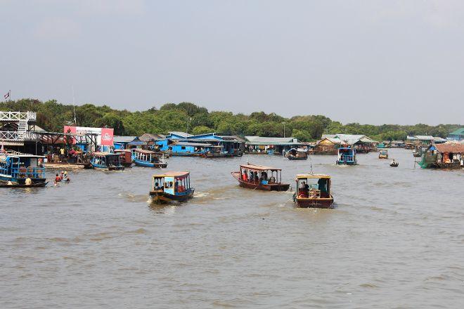 Chong Kneas Floating Village, Siem Reap, Cambodia