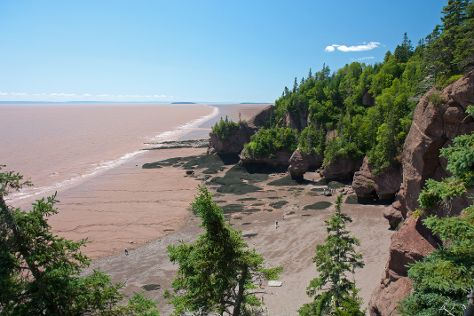 Hopewell Rocks, Hopewell Cape, Canada