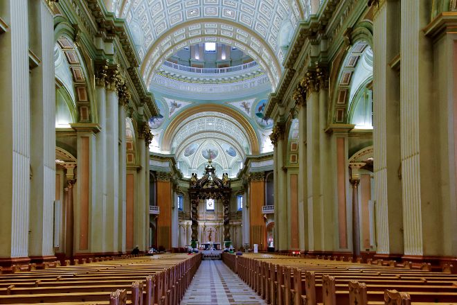 Cathedral of Marie-Reine-du-Monde, Montreal, Canada
