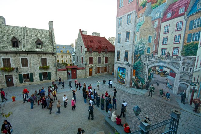 Lower Town (Basse-Ville), Quebec City, Canada