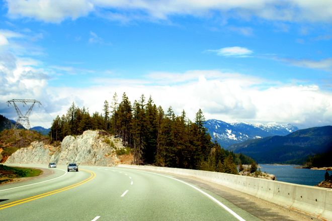 Sea to Sky Highway, British Columbia, Canada