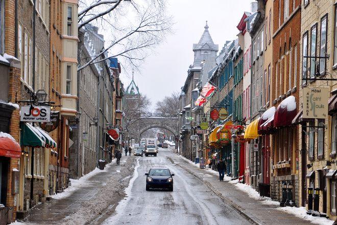Upper Town (Haute-Ville), Quebec City, Canada