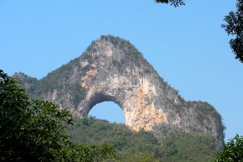 Moon Hill, Yangshuo County, China