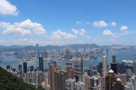 Victoria Peak (The Peak), Hong Kong, China