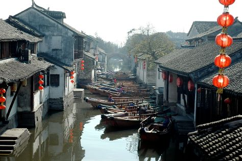 Zhouzhuang Water Town, Kunshan, China
