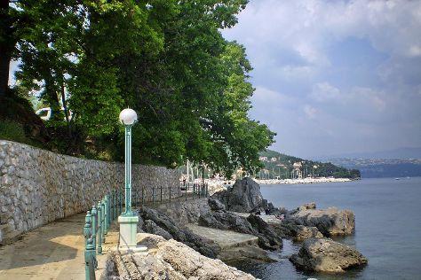 Lungo Mare, Opatija, Croatia