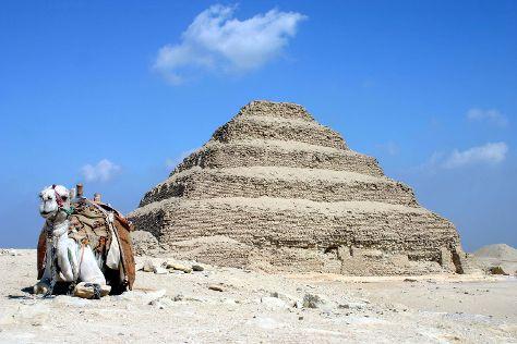 Saqqara (Sakkara) Pyramids, Cairo, Egypt