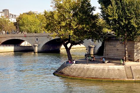 Ile Saint-Louis, Paris, France