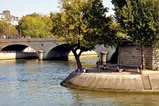 Ile Saint-Louis, Paris, France