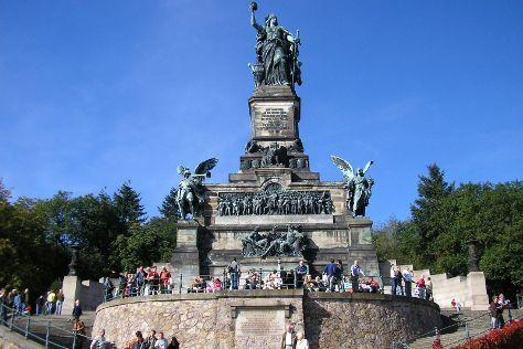 Niederwald Monument (Niederwalddenkmal), Ruedesheim am Rhein, Germany