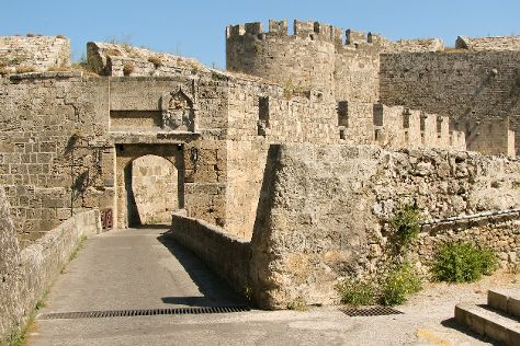 Medieval City, Rhodes, Greece