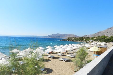 Pefkos Beach, Pefkos, Greece