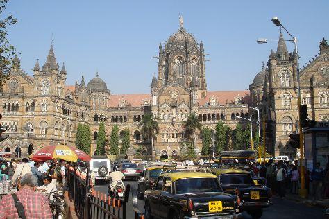 Chhatrapati Shivaji Terminus, Mumbai (Bombay), India