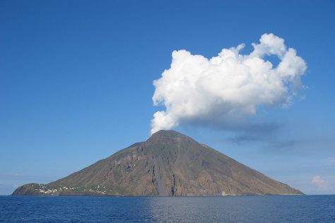 Stromboli Volcano, Stromboli, Italy