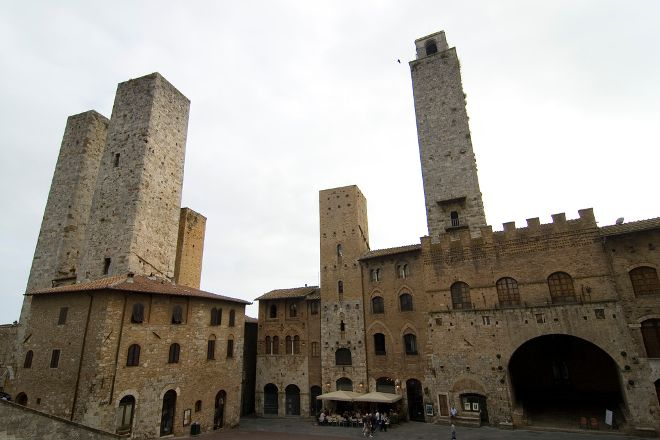 San Gimignano Bell Tower, San Gimignano, Italy