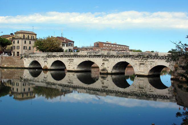The Tiberius Bridge, Rimini, Italy