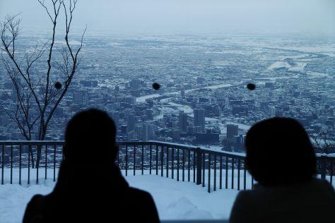 Mt. Moiwa, Sapporo, Japan