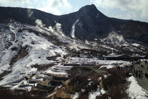 Owaku-dani Valley, Hakone-machi, Japan