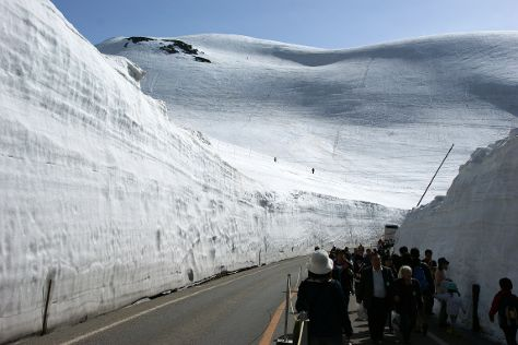 Tateyama Kurobe Alpine Route, Tateyama-machi, Japan