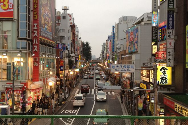 Shin Okubo Korean Town, Shinjuku, Japan