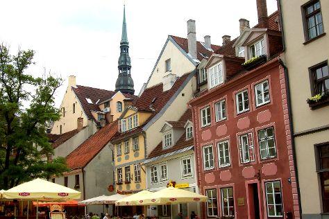 Old City Riga (Vecriga), Riga, Latvia