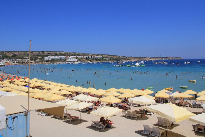 Mellieha Beach, Mellieha, Malta
