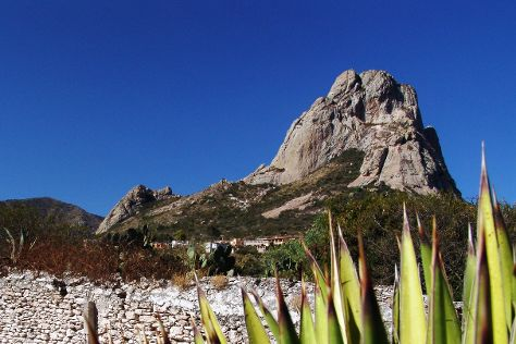 La Pena de Bernal, Queretaro, Mexico