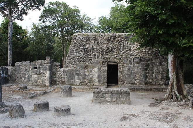 San Gervasio Mayan Archaeological Site, Cozumel, Mexico