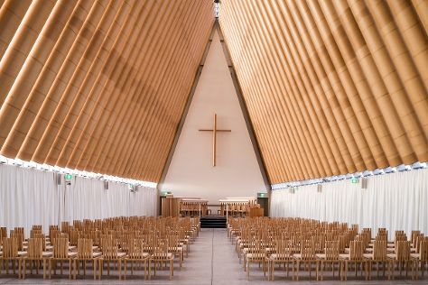 Cardboard Cathedral, Christchurch, New Zealand
