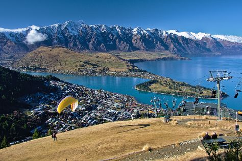 Queenstown Hill, Queenstown, New Zealand