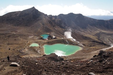 Tongariro Alpine Crossing, Tongariro National Park, New Zealand