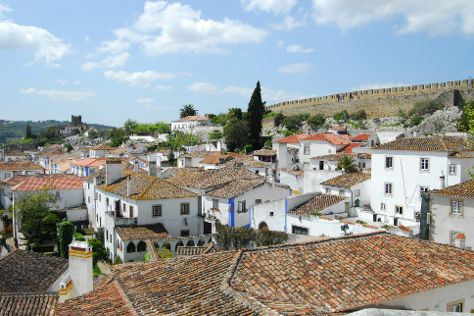 Obidos Village, Obidos, Portugal