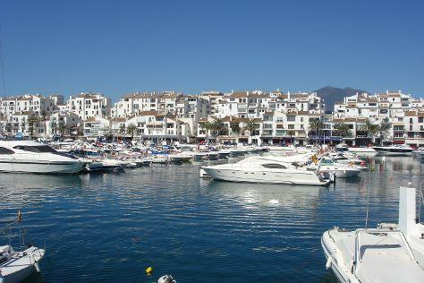Puerto Banus Marina, Marbella, Spain