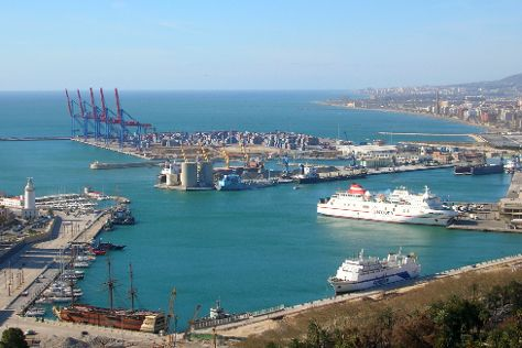 Puerto de Malaga, Malaga, Spain