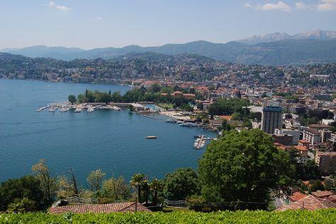 Lake Lugano, Lugano, Switzerland