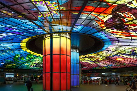 The Dome of Light, Kaohsiung, Taiwan