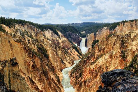 Grand Canyon of the Yellowstone, Yellowstone National Park, United States